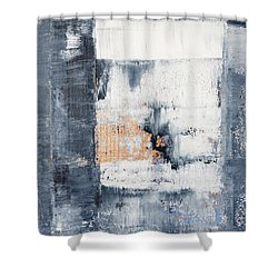 Abstract Painting No.5 Shower Curtain by Julie Niemela