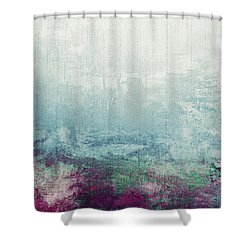 Abstract Print 11 Shower Curtain by Filippo B