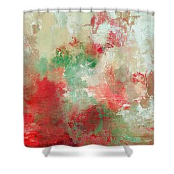 Abstract Print 18 Shower Curtain by Filippo B