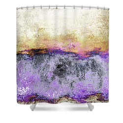 Abstract Print 20 Shower Curtain by Filippo B