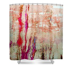 Abstract Print 22 Shower Curtain by Filippo B