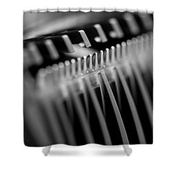 Abstract Razor Shower Curtain