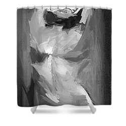 Abstract Series IIi Shower Curtain