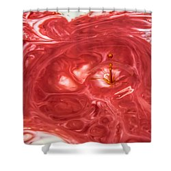 Abstract Splash 2 Shower Curtain