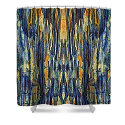 Abstract Symmetry I Shower Curtain by David Gordon