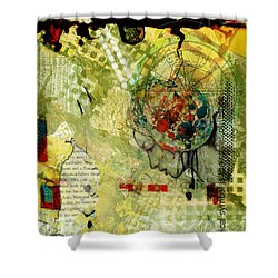 Abstract Tarot Art 009 Shower Curtain by Corporate Art Task Force