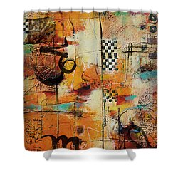 Abstract Tarot Art 010 Shower Curtain by Corporate Art Task Force
