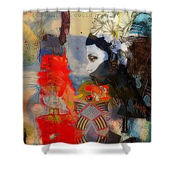 Abstract Tarot Art 011 Shower Curtain by Corporate Art Task Force