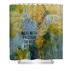 Abstract Tarot Art 020 Shower Curtain by Corporate Art Task Force