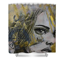 Abstract Tarot Art 022b Shower Curtain by Corporate Art Task Force