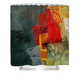 Abstract Tarot Card 004 Shower Curtain by Corporate Art Task Force