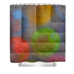 Shower Curtain featuring the photograph Abstract Textures by Arlene Carmel