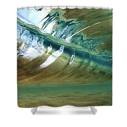 Abstract Underwater 2 Shower Curtain
