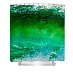 Abstract Wave 3 Shower Curtain