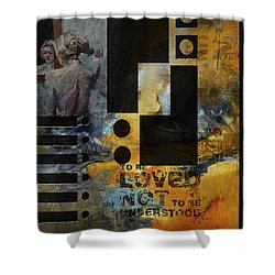 Abstract Women 006 Shower Curtain by Corporate Art Task Force