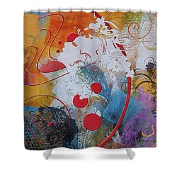Abstract Women 012 Shower Curtain by Corporate Art Task Force