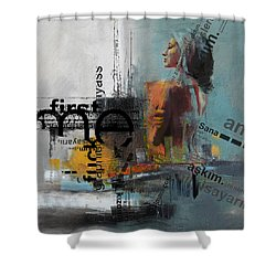 Abstract Women 013 Shower Curtain by Corporate Art Task Force