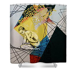 Abstract Women 021 Shower Curtain by Corporate Art Task Force