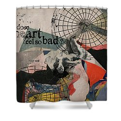 Abstract Women 024 Shower Curtain by Corporate Art Task Force