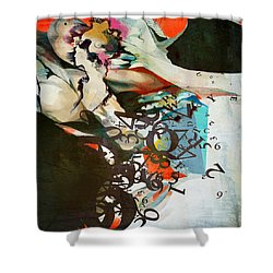 Abstract Women 025 Shower Curtain by Corporate Art Task Force
