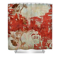 Abstract Women 20 Shower Curtain by Corporate Art Task Force