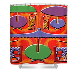 Abstraction 177 Shower Curtain by Patrick J Murphy