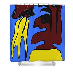 Abstraction 229 Shower Curtain by Patrick J Murphy