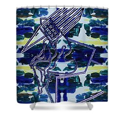 Abstraction 231 Shower Curtain by Patrick J Murphy