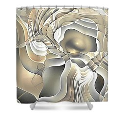 Abstraction 234-03-13- Marucii  Shower Curtain