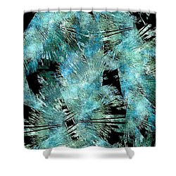 Abstraction 432-08-13 Marucii Shower Curtain