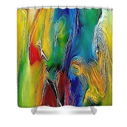 Abstraction 591-11-13 Marucii Shower Curtain