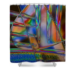 Abstraction In Color 1 Shower Curtain