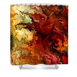 Abstraction Surrealist By Rafi Talby Shower Curtain by Rafi Talby