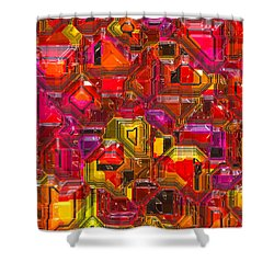 Abstractions... Shower Curtain
