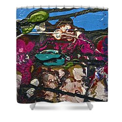 Abstracts 14 - Seascapes Shower Curtain