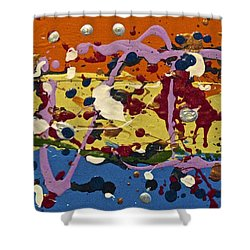 Abstracts 14 - The Circus Shower Curtain