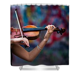 Abstracts From Vivaldi - Featured 3 Shower Curtain