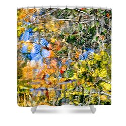 Abstracts Of Nature Shower Curtain by Frozen in Time Fine Art Photography