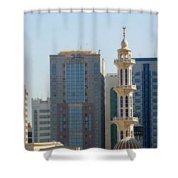 Abu Dhabi City Center Shower Curtain