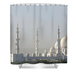 Abu Dhabi Sheikh Zayed Grand Mosque Shower Curtain