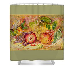 Abundance 1 Shower Curtain