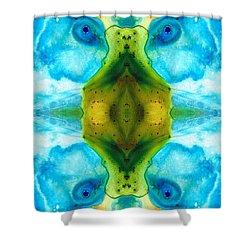 Abundant Life - Pattern Art By Sharon Cummings Shower Curtain by Sharon Cummings