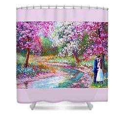 Abundant Love Shower Curtain