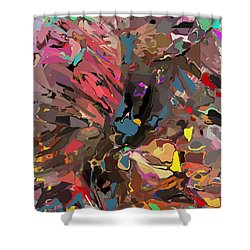Abyss 2 Shower Curtain by David Lane