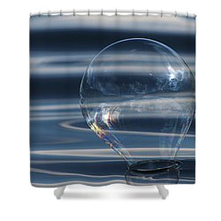 Abyss Shower Curtain by Cathie Douglas