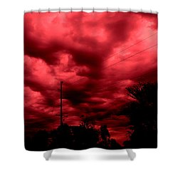 Abyss Of Passion Shower Curtain