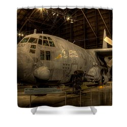 Ac-130 Gunship Shower Curtain