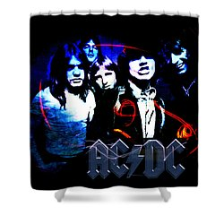 Ac/dc - Rock Shower Curtain