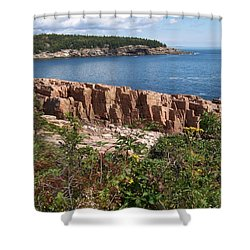 Acadia Maine Shower Curtain by Catherine Gagne