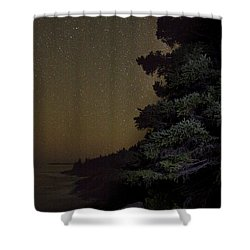 Acadia Stars 01 Shower Curtain by Brent L Ander